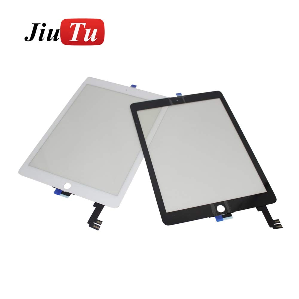 FINCOS for iPad Air 2 Digitizer for iPad 6 A1567 A1566 Replacement Touch Screen Digitizer Glass White Black - (Color: 2pcs for Pro 12.9) by FINCOS (Image #1)