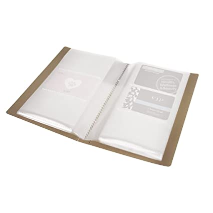 Tarjeta de visita carpeta para 120 tarjetas compacto Tarjeta ...