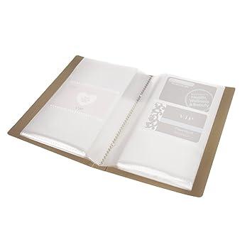 Visitenkartenmappe Für 120 Karten Kompakte Kartenmappe