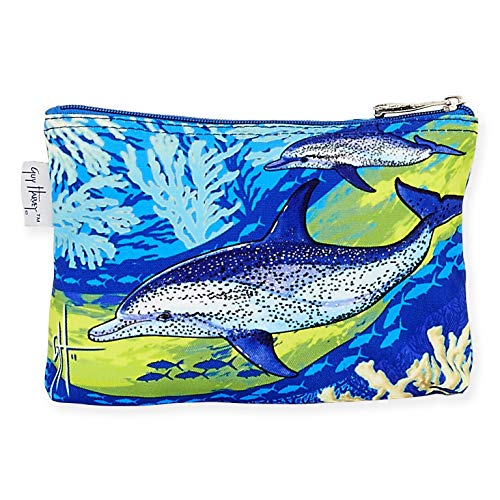 Guy Harvey Dolphin Cosmetic Bag, 9