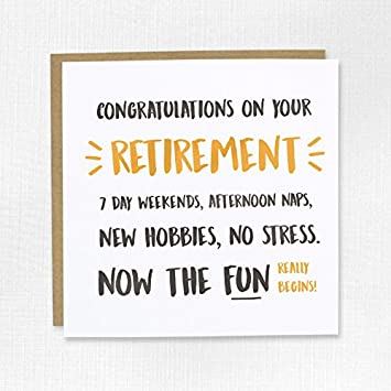 Free retirement ecards greeting cards 123 greetings retirement congratulations on your retirement greeting card retired fun begins m4hsunfo