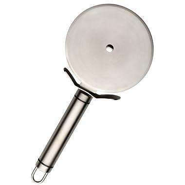 StarPack, Premier Stainless Steel Pizza Cutter (4-Inch) Kitchen Utensil - Bonus 101 Cooking Tips