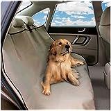 Telo auto per cani copri sedili impermeabile protezione coprisedile vari colori. MEDIA WAVE store (Nero)