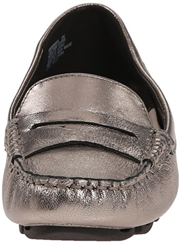 Easy Leather Pewter Fabiana Spirit Flat Women's C1T6xC