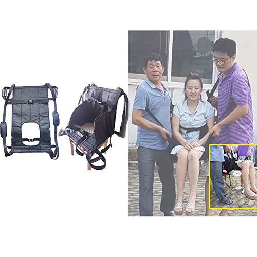 (GaoFan Patient Lift Stair Slide Board,Toilet Auxiliary Device,Transfer Emergency Evacuation Chair Wheelchair Seat Belt Medical Lifting Sling Transferring Disc,A)