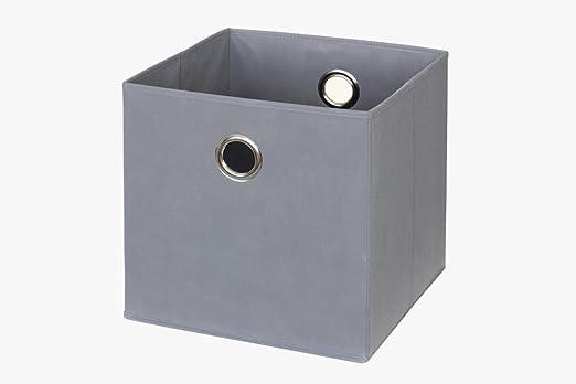Ikea Kallax/Expedit. Caja en gris: Amazon.es: Juguetes y juegos