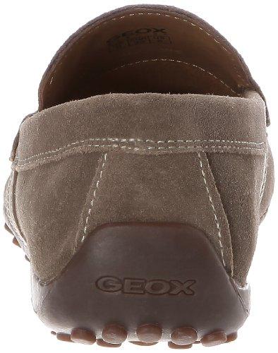 Geox U SNAKE MOC ART.U U1107U00022C6029 - Mocasines de cuero para hombre Beige