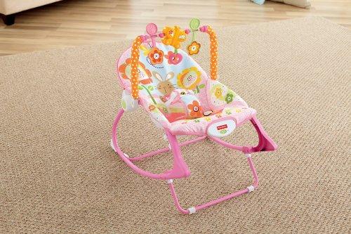 Fisher Price Infant Toddler Rocker Bouncer Vibrating