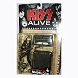McFarlane Toys, KISS Alive Ace Frehley (Space Ace) Figure, 6.5 Inches