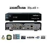 Zgemma H5.2S Plus Combo con tuner 1xDVB-S2 e 1xDVB-S2X/T2, IPTV, Enigma2, supporta Feed Multistream