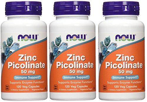 Foods Zinc Picolinate Capsules Pack