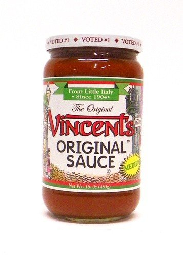 - The Original Vincent's Sauce MEDIUM Flavor 16oz