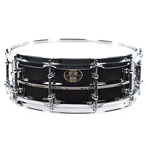 Ludwig Black Magic - Ludwig 5.5x14 Black Magic Snare Drum w/Chrome Hdwr