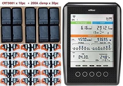 Amazon.com: korins mywatt sem4500 – 200 A, trifásico 10 ...