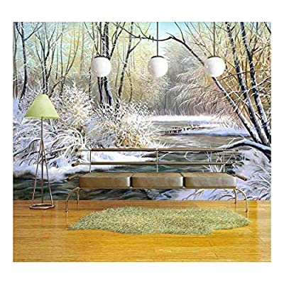 Winter Landscape with The Wood River, Quality Artwork, Gorgeous Artistry