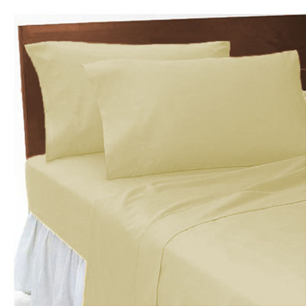 Black, Double JUBILEEHOMEWARE Luxury Hotel Quality T300 100/% Egyptian Combed Cotton Flat Bed Sheets Fine Quality in different Colors and Sizes