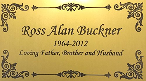 Personalized Engraved Plate, 4.5