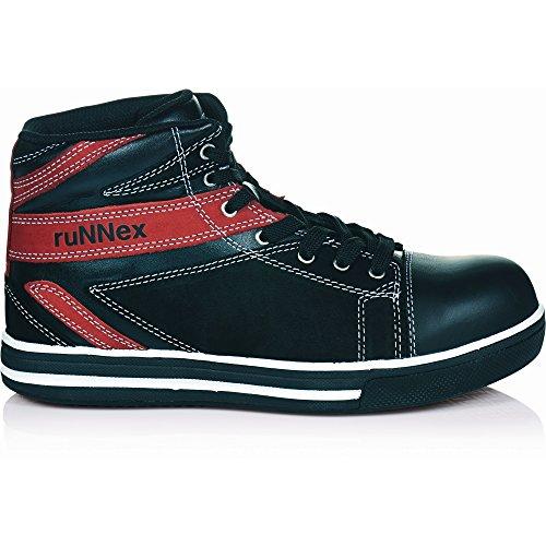 ruNNex SportStars - Calzado de protección para hombre - Schwarz - Rot