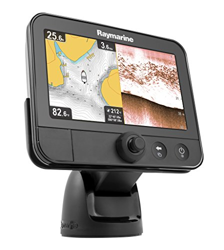 Raymarine Dragonfly 7 Sonar GPS Navionics+ Fish Finder with CPT-60 Transducer Fish Finders And Other Electronics Raymarine