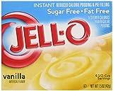 Jell-O Sugar-Free Instant Pudding & Pie Filling, Vanilla, 1.5 oz