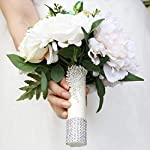 Wedding-Bouquets-for-Brides-or-BridesmaidsArtificial-Flowers-composed-of-Silk-RoseGlobular-Peony-and-Berry-BranchesHome-Wedding-Decoration-Flowers-Bunch-Hotel-Party-Garden-Flower-Wedding-bouquets