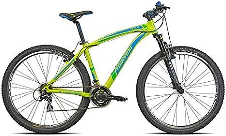 Torpado - Bicicleta MTB Delta de 29 pulgadas en color verde lima ...