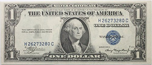 1935 Series A Silver Certificate in Very Good (Silver Certificate Series)