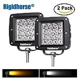 02 dodge durango fog lights - Dual-Color LED Fog Light Rigidhorse 12D Quad Row 2 pcs 4