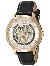 Kenneth Cole New York Men's KC8078 Automatic Analog Display Automatic Self Wind Black Watch