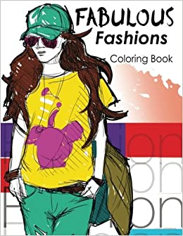 Amazon Fabulous Fashions Coloring Book New York Times Bestselling Artists Adult Books 9781535165013 Risami Heida