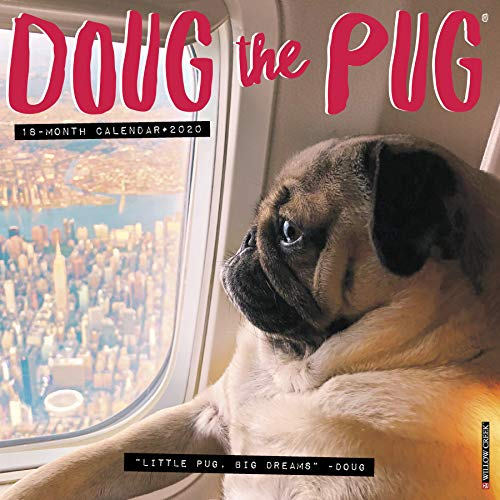 Doug the Pug 2020 Wall Calendar (Dog Breed Calendar) por Leslie Mosier