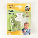 Baby Buddy Bear Pacifier Holder Sage (Pack Of 18)