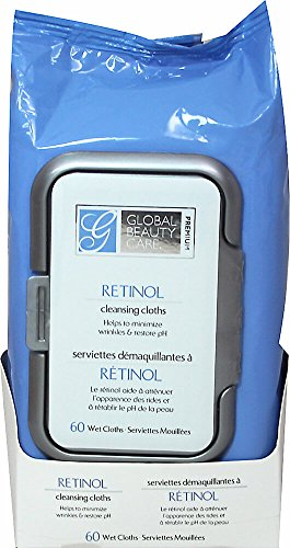 Global Beauty Care Premium Facial Cleansing Cloth (60 Count) ()