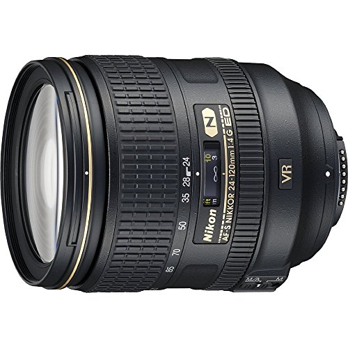 Beach Camera Nikon 24-120mm f/4G ED VR AF-S NIKKOR Lens for Nikon Digital SLR - Lens Graphic
