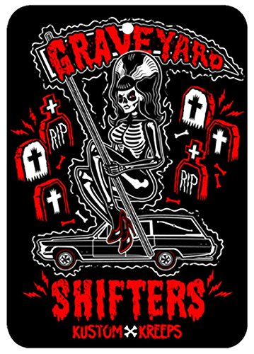 Graveyard Shifters - Rose Scented Air Freshener from Sourpuss Clothing