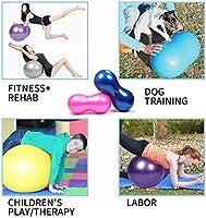 Pelota de yoga de Ylovek, balón de equilibrio en forma de nuez ...