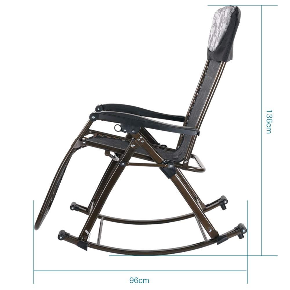 JDGK 正規品送料無料 - ラウンジチェア 買収 8974 B07T2G614L リクライニングチェア多機能ロッキングチェア知恵椅子健康椅子リクライニング折りたたみ折りたたみスイングリビングルームデュアルユースチェアオフィス