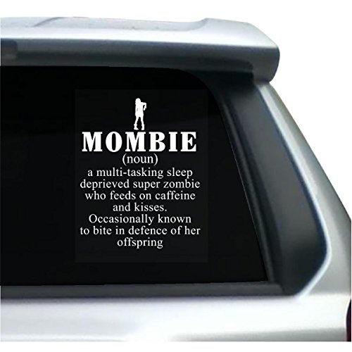 Mombie Definition Funny Halloween Costume For Mom - Sticker