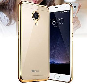 Prevoa ® 丨 Meizu M2 NOTE Funda - Transparent Silicona Carcasa Sencillo Claro Crystal Naturaleza Suave TPU para MEIZU M2 NOTE 5,5 Pulgadas Smartphone - ...