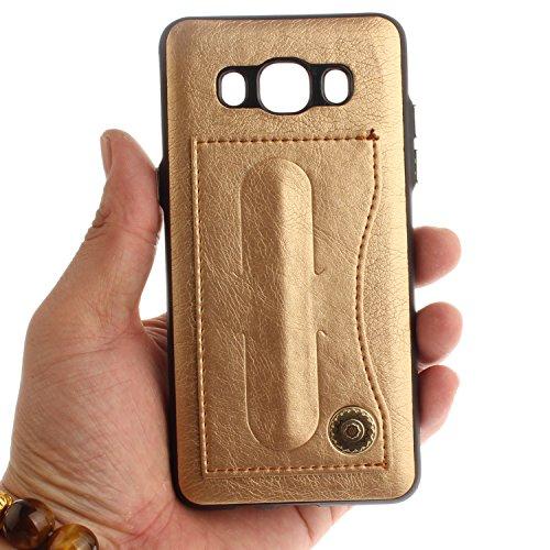 Carcasa para Galaxy J5 (2016 ) Sunroyal® para Samsung Galaxy J5 (2016 ) J510 Funda Reflexión Brillante Lujo Espejo Carcasa Aluminio Carcasa Metal Mirror Bumper Phone Case Hard Cover With Frame Caja de Diseño 13