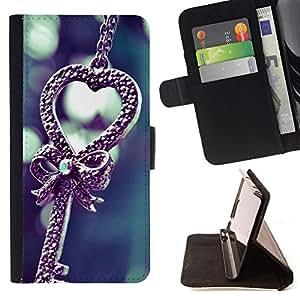 - Love cute - - Monedero PU titular de la tarjeta de cr????dito de cuero cubierta de la caja de la bolsa FOR Samsung Galaxy Note 4 IV RetroCandy