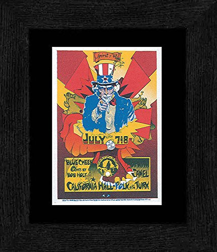 Frame California Mini (Stick It On Your Wall Blue Cheer - Spirit Of 67' California Hall San Francisco 1967 Framed Mini Poster - 20x18cm)