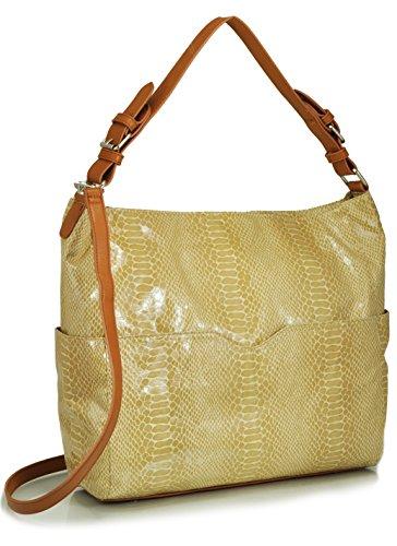 sr-squared-by-sondra-roberts-snake-textured-bucket-bag-beige