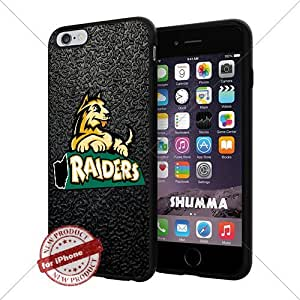 "NCAA Wright State Raiders Cool iPhone 6 Plus (6+ , 5.5"") Smartphone Case Cover Collector iphone TPU Rubber Case Black"