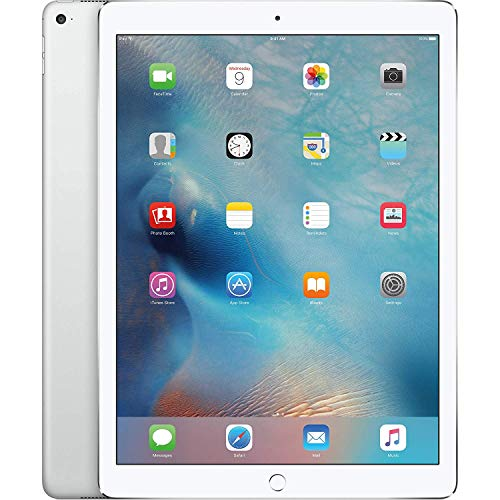 Apple iPad Pro 32GB 9.7in Wi-Fi + Cellular Unlocked GSM 4G LTE Tablet PC – White/Silver (Renewed)