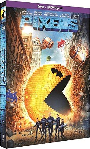 Pixels - Dvd + Copie Digitale + 1 Planche De Décalcomanies