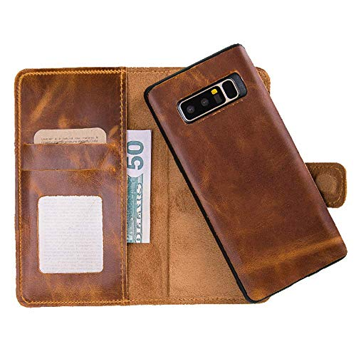 Saracleather Wallet Case For Samsung Galaxy S10 and S10 Plus