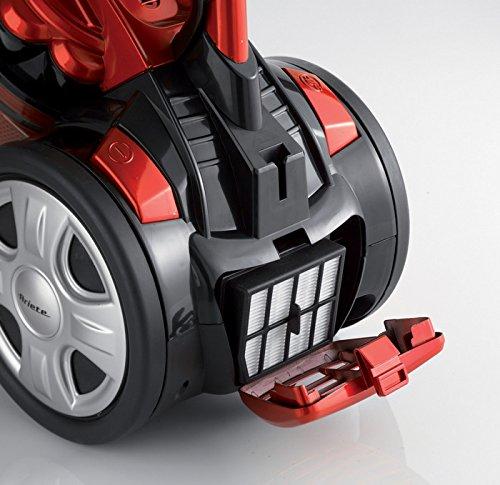 Ariete j-Force Aspiradora sin Bolsa, tecnología Multi-ciclonica, Filtro HEPA, Triple Clase A, 700 W, 3 L, plástico, Rojo/Negro: Amazon.es: Hogar