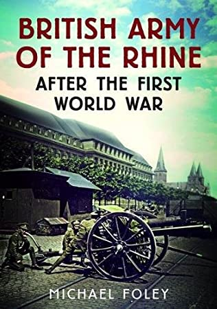 book cover of The British Army of the Rhine after the First World War