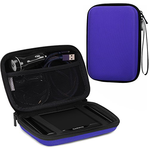 Gps Card Pocket Pc (MoKo 7-Inch GPS Carrying Case, Portable Hard Shell Protective Pouch Storage Bag for Car GPS Navigator Garmin / Tomtom / Magellan with 7
